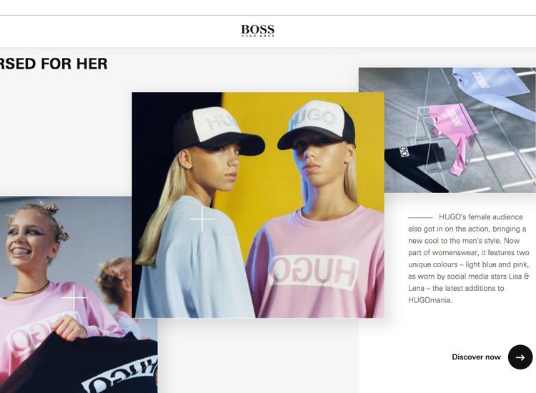 Lisa und Lena im Hugo Boss Pullover