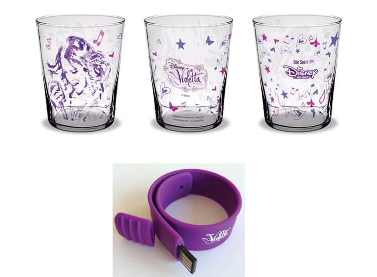 Violetta Gewinnspiel Violetta Glaeser und Violetta USB Armband