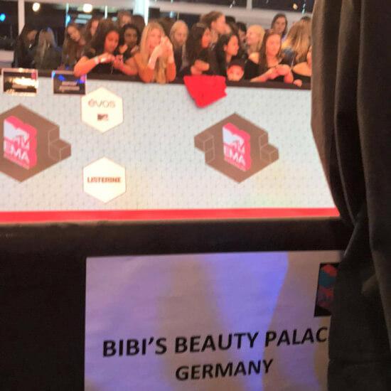 Bibis Beauty Palace EMAs 2016