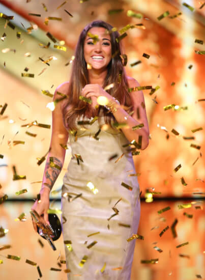 Supertalent 2016 Gewinnerin Valentine Flukes
