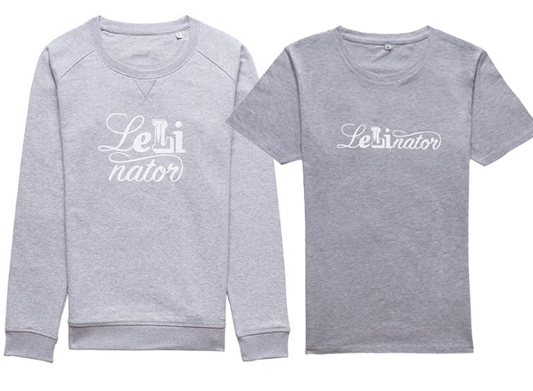 Lisa und Lena Shop Lelinator Pulli und Shirt