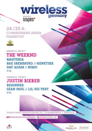 Wireless Festival 2017 Deutschland Line Up
