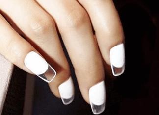 See Through Nails Durchsichtige Nägel