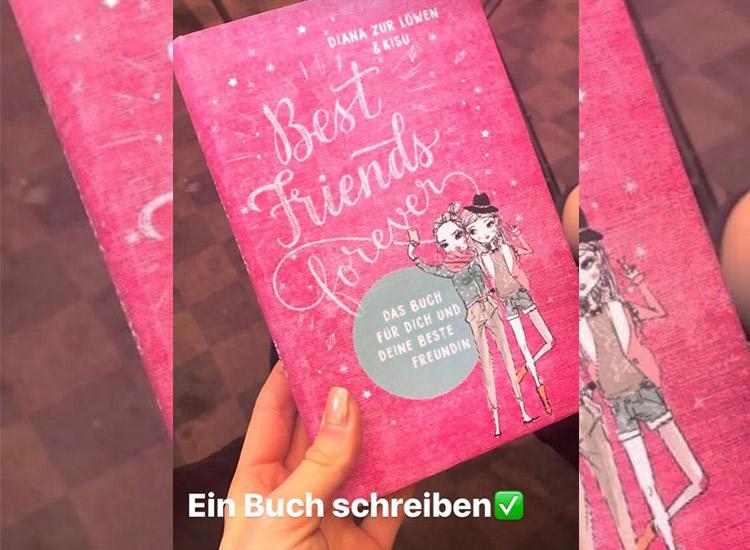 Diana zur Löwen und Kisu bringen Buch Best Friends Forever raus