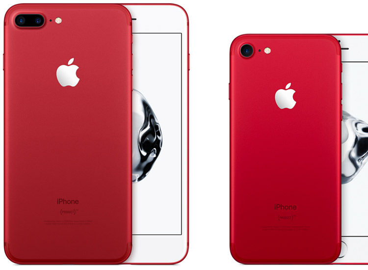 Apple überrascht mit iPhone 7 in rot! - STARZIP
