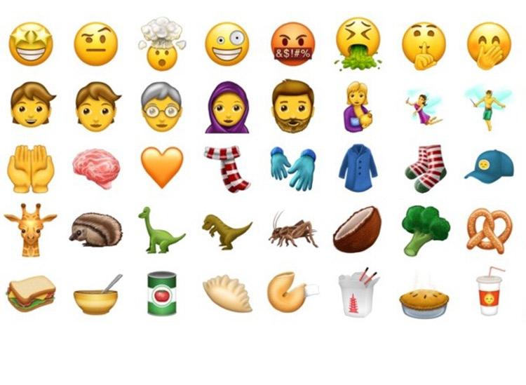 Neue Emojis 2017 kommen im Juni