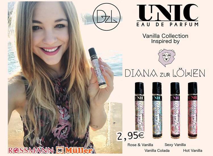Unic Parfum: Diana zur Löwen bringt vier Vanille Sorten raus