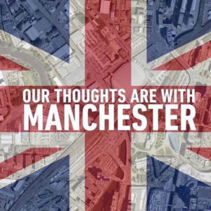 Pray for Manchester - Our Thoughts Are With Manchester/ Unsere Gedanken sind bei Manchester